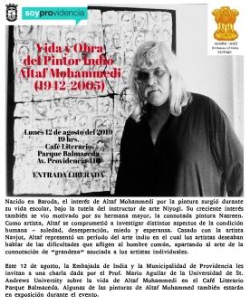 Poster - Altaf Mohammedi Providencia 410